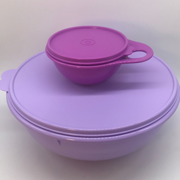 Tupperware Fix N Mix  Bowl Set of 2